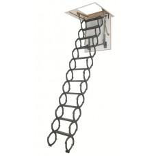 Металлическая термоизоляционная лестница LST 60x120x260-280 см